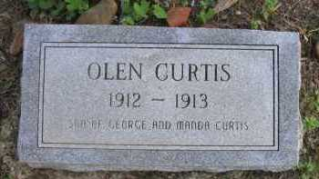 CURTIS, OLEN - Pope County, Arkansas | OLEN CURTIS - Arkansas Gravestone Photos