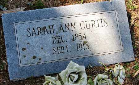 CURTIS, SARAH ANN - Pope County, Arkansas | SARAH ANN CURTIS - Arkansas Gravestone Photos