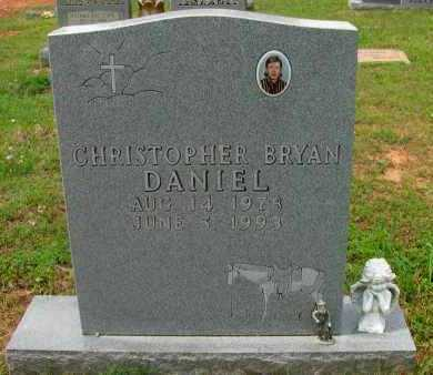 DANIEL, CHRISTOPHER BRYAN - Pope County, Arkansas | CHRISTOPHER BRYAN DANIEL - Arkansas Gravestone Photos