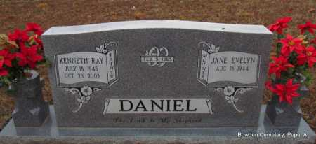 DANIEL, KENNETH RAY - Pope County, Arkansas | KENNETH RAY DANIEL - Arkansas Gravestone Photos