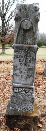 DARR, ALVA CLYDE - Pope County, Arkansas | ALVA CLYDE DARR - Arkansas Gravestone Photos