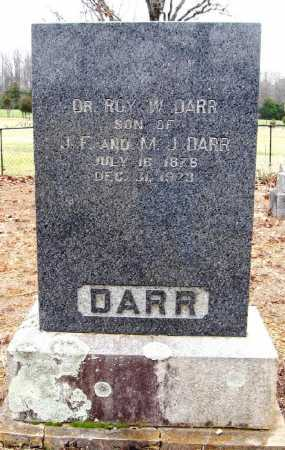 DARR, ROY W , DR - Pope County, Arkansas | ROY W , DR DARR - Arkansas Gravestone Photos