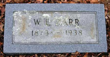 DARR, W E - Pope County, Arkansas | W E DARR - Arkansas Gravestone Photos