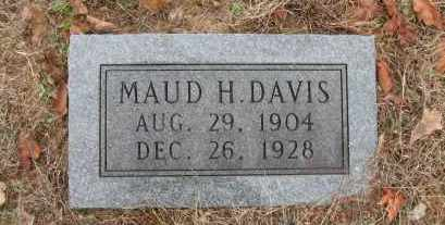 LLEWELLYN DAVIS, MAUD H. - Pope County, Arkansas | MAUD H. LLEWELLYN DAVIS - Arkansas Gravestone Photos