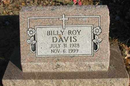 DAVIS, BILLY ROY - Pope County, Arkansas | BILLY ROY DAVIS - Arkansas Gravestone Photos