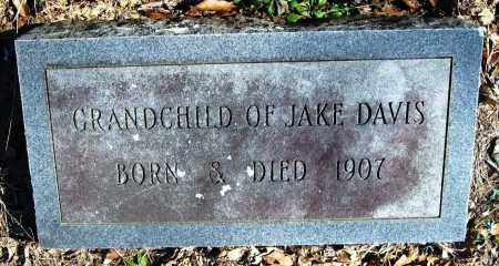 DAVIS, GRANDCHILD - Pope County, Arkansas | GRANDCHILD DAVIS - Arkansas Gravestone Photos