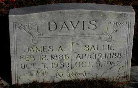 DAVIS, JAMES  A - Pope County, Arkansas | JAMES  A DAVIS - Arkansas Gravestone Photos