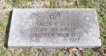 DAVIS (VETERAN WWII), JAMES E - Pope County, Arkansas | JAMES E DAVIS (VETERAN WWII) - Arkansas Gravestone Photos