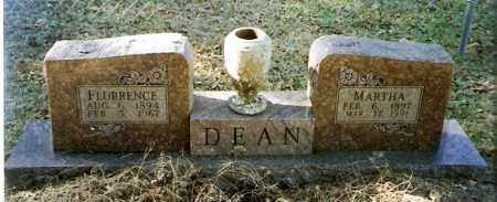 DEAN, FLURRENCE - Pope County, Arkansas | FLURRENCE DEAN - Arkansas Gravestone Photos
