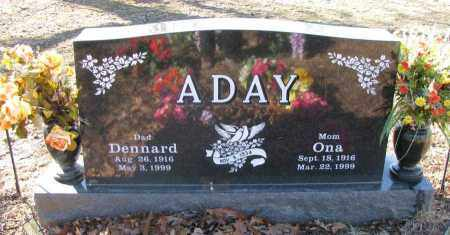 PACK ADAY, ONA - Pope County, Arkansas | ONA PACK ADAY - Arkansas Gravestone Photos