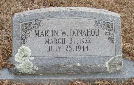 DONAHU, MARTIN W - Pope County, Arkansas | MARTIN W DONAHU - Arkansas Gravestone Photos