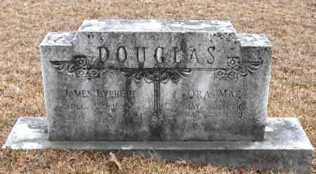 DOUGLAS, JAMES EVERETT - Pope County, Arkansas | JAMES EVERETT DOUGLAS - Arkansas Gravestone Photos
