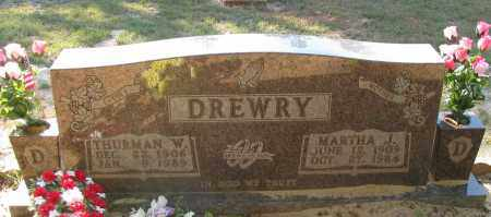 DREWRY, MARTHA J - Pope County, Arkansas | MARTHA J DREWRY - Arkansas Gravestone Photos