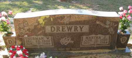 DREWRY, THURMAN W - Pope County, Arkansas | THURMAN W DREWRY - Arkansas Gravestone Photos