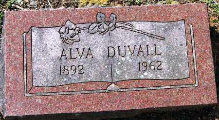 DUVALL, ALVA - Pope County, Arkansas | ALVA DUVALL - Arkansas Gravestone Photos