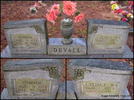 DUVALL, DIMMIE - Pope County, Arkansas | DIMMIE DUVALL - Arkansas Gravestone Photos
