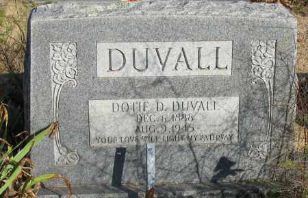 DUVALL, DOTIE D - Pope County, Arkansas | DOTIE D DUVALL - Arkansas Gravestone Photos
