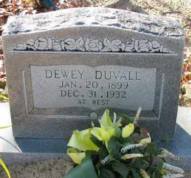 DUVALL, DEWEY - Pope County, Arkansas | DEWEY DUVALL - Arkansas Gravestone Photos