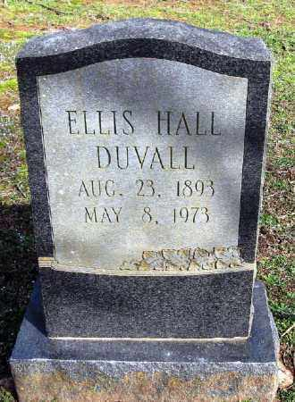 DUVALL, ELLIS HALL - Pope County, Arkansas | ELLIS HALL DUVALL - Arkansas Gravestone Photos