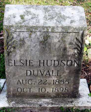 DUVALL, ELSIE - Pope County, Arkansas | ELSIE DUVALL - Arkansas Gravestone Photos