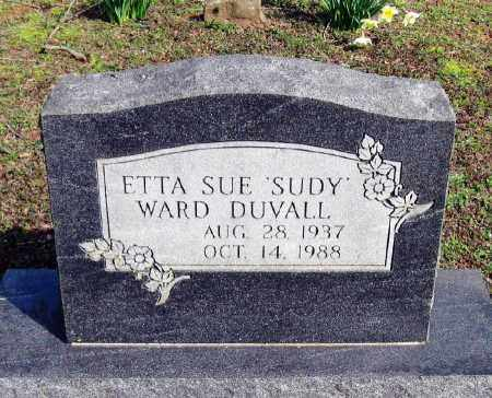 "DUVALL, ETTA SUE ""SUDY"" - Pope County, Arkansas 