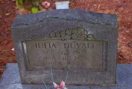 DUVALL, JULIA - Pope County, Arkansas | JULIA DUVALL - Arkansas Gravestone Photos