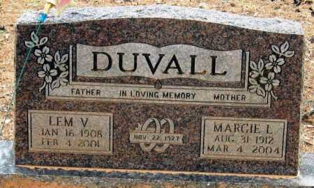 DUVALL, LEM V - Pope County, Arkansas | LEM V DUVALL - Arkansas Gravestone Photos