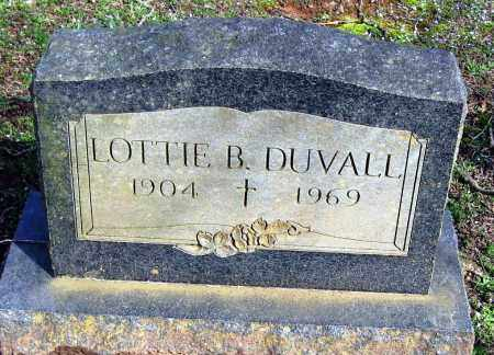 DUVALL, LOTTIE B - Pope County, Arkansas | LOTTIE B DUVALL - Arkansas Gravestone Photos
