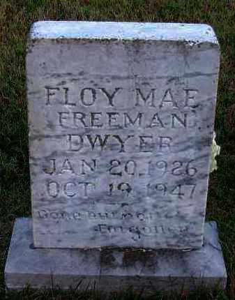 DWYER, FLOY MAE - Pope County, Arkansas | FLOY MAE DWYER - Arkansas Gravestone Photos