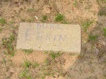 EAKIN, BURL - Pope County, Arkansas | BURL EAKIN - Arkansas Gravestone Photos