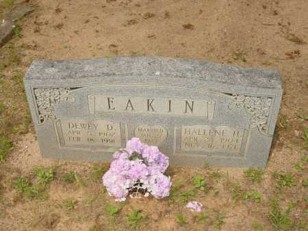 HOWARD EAKIN, HALLENE H. - Pope County, Arkansas | HALLENE H. HOWARD EAKIN - Arkansas Gravestone Photos