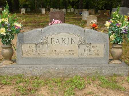 PIGG EAKIN, EFFIE - Pope County, Arkansas | EFFIE PIGG EAKIN - Arkansas Gravestone Photos