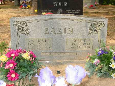BROWN EAKIN, GOLDIE REBECCA - Pope County, Arkansas | GOLDIE REBECCA BROWN EAKIN - Arkansas Gravestone Photos