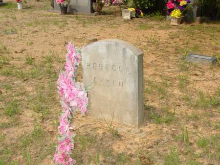 EAKIN, REBECCA - Pope County, Arkansas | REBECCA EAKIN - Arkansas Gravestone Photos