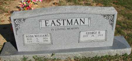 WILLIAMS EASTMAN, NODA - Pope County, Arkansas | NODA WILLIAMS EASTMAN - Arkansas Gravestone Photos