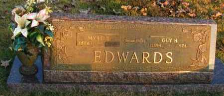 EDWARDS, MYRTLE - Pope County, Arkansas | MYRTLE EDWARDS - Arkansas Gravestone Photos