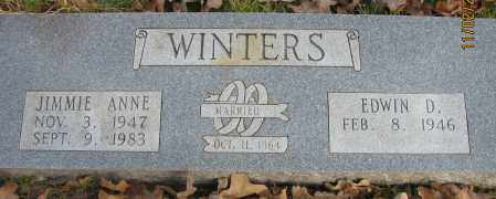 WINTERS, JIMMIE ANNE - Pope County, Arkansas | JIMMIE ANNE WINTERS - Arkansas Gravestone Photos