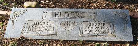 ELDERS, JESSIE - Pope County, Arkansas | JESSIE ELDERS - Arkansas Gravestone Photos
