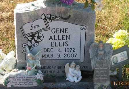 ELLIS, GENE ALLEN - Pope County, Arkansas | GENE ALLEN ELLIS - Arkansas Gravestone Photos