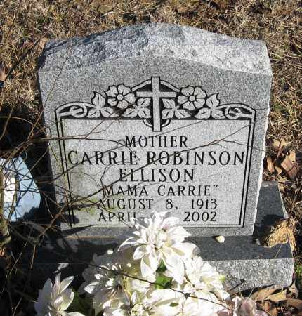 ROBINSON ELLISON, CARRIE - Pope County, Arkansas | CARRIE ROBINSON ELLISON - Arkansas Gravestone Photos