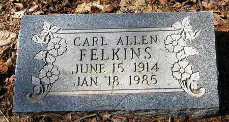 FELKINS, CARL ALLEN - Pope County, Arkansas | CARL ALLEN FELKINS - Arkansas Gravestone Photos