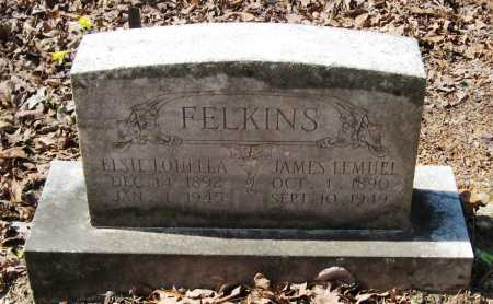 FELKINS, JAMES LEMUEL - Pope County, Arkansas | JAMES LEMUEL FELKINS - Arkansas Gravestone Photos