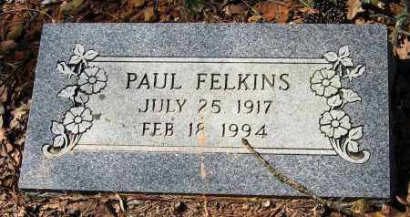 FELKINS, PAUL - Pope County, Arkansas | PAUL FELKINS - Arkansas Gravestone Photos