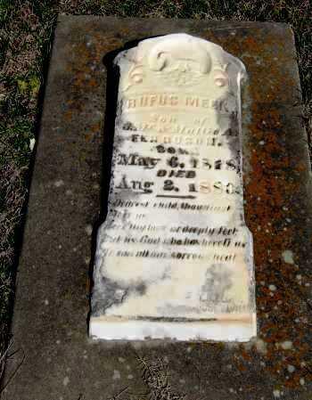FERGUSON, RUFUS MEEK - Pope County, Arkansas | RUFUS MEEK FERGUSON - Arkansas Gravestone Photos