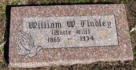 FINDLEY, WILLIAM W - Pope County, Arkansas | WILLIAM W FINDLEY - Arkansas Gravestone Photos