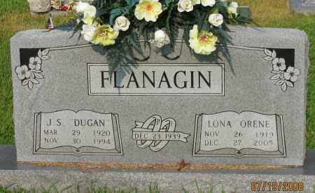 FLANAGIN, LONA ORENE - Pope County, Arkansas | LONA ORENE FLANAGIN - Arkansas Gravestone Photos