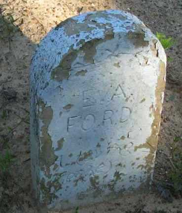 FORD, EVA - Pope County, Arkansas | EVA FORD - Arkansas Gravestone Photos