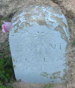 FORD, INFANT - Pope County, Arkansas | INFANT FORD - Arkansas Gravestone Photos