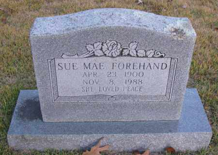 FOREHAND, SUE MAE - Pope County, Arkansas | SUE MAE FOREHAND - Arkansas Gravestone Photos