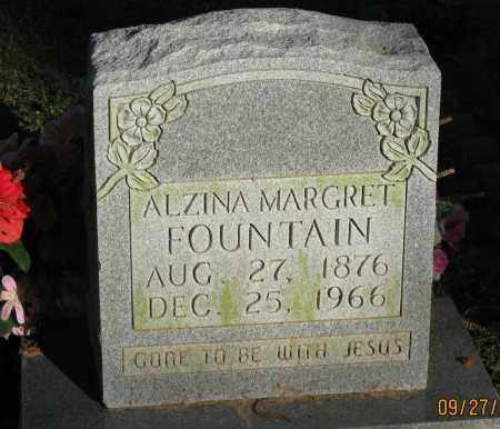 FOUNTAIN, ALZINA MARGARET - Pope County, Arkansas   ALZINA MARGARET FOUNTAIN - Arkansas Gravestone Photos